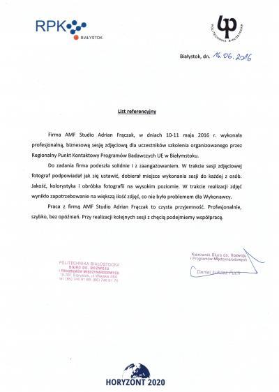 Sesja biznesowa - Politechnika Białostocka 1085