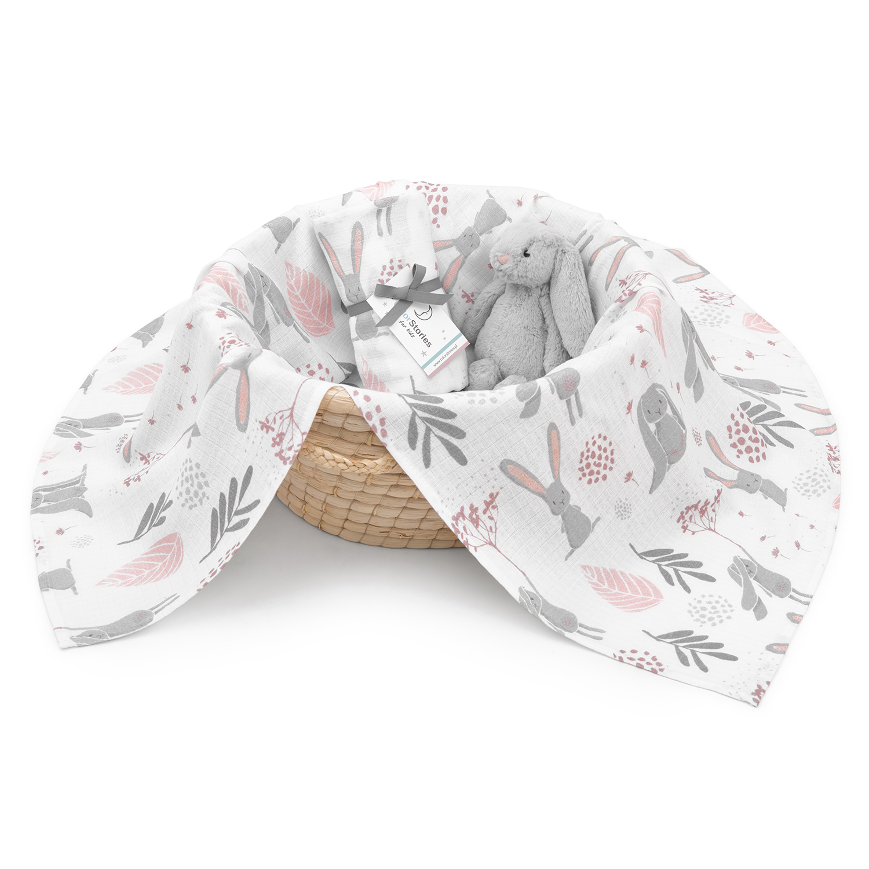 Wzór bunny, packshoty stylizowane