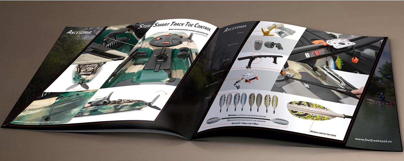 Fotografia produktowa w użyciu, wizualizacja katalogu