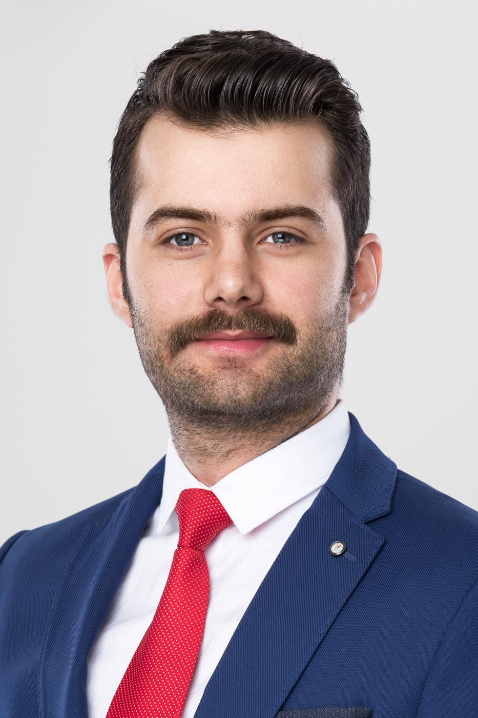 Specjalista do spraw finansowych - fotografia wizerunkowa