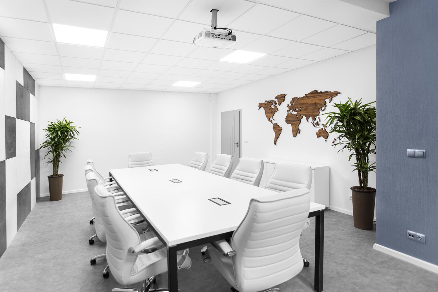 Pomieszczenie spotkań firmowych, fotografia firmowa