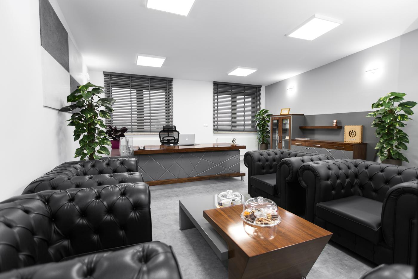 Fotografia wnętrza biurowego Warszawa