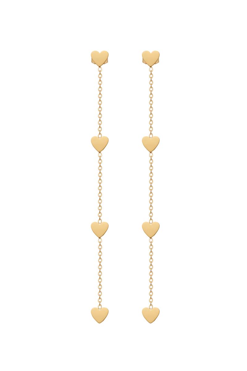 Packshot biżuterii z motywem serc