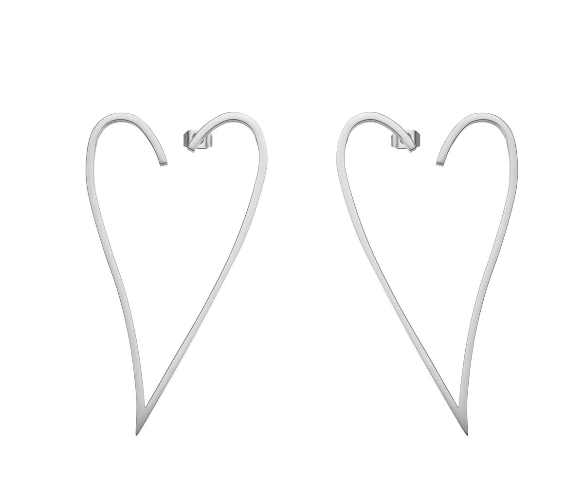 Srebrny wyraz miłości przedstawiony za pomocą fotografii