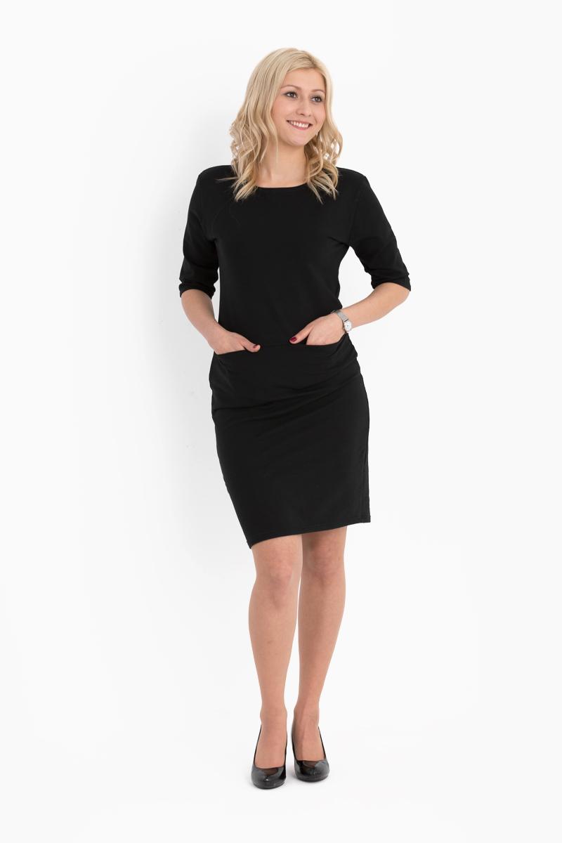 Lookbook modna dzianinowa sukienka Elbląg